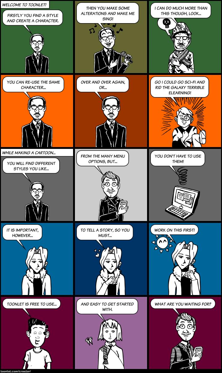Toonlet - eLearning