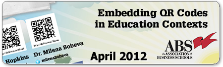 ABS: Embedding QR Codes in Education Contexts