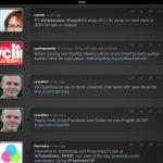 Quip: Twitter timeline