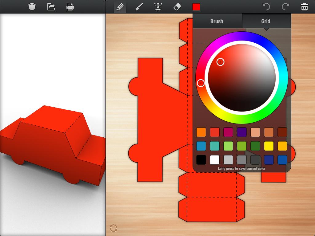 Foldify App - Start Designing