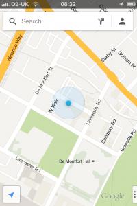 Google Maps App - Location
