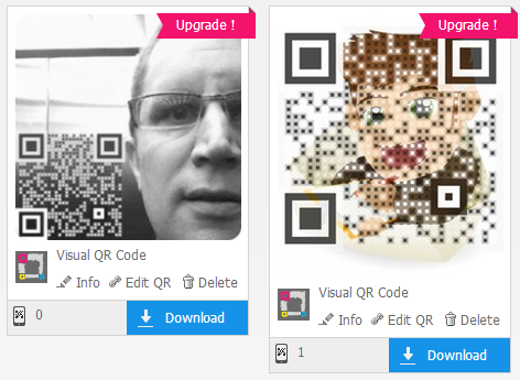 QR Codes from Visualead