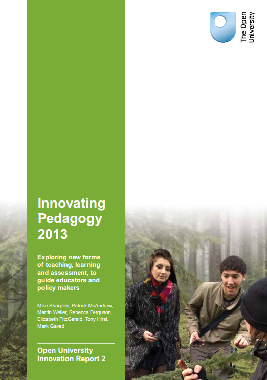 Innovating Pedagogy 2013