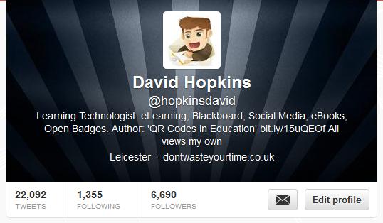 Twitter David Hopkins