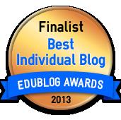 Best Individual Blog 2013 - Edublog Awards