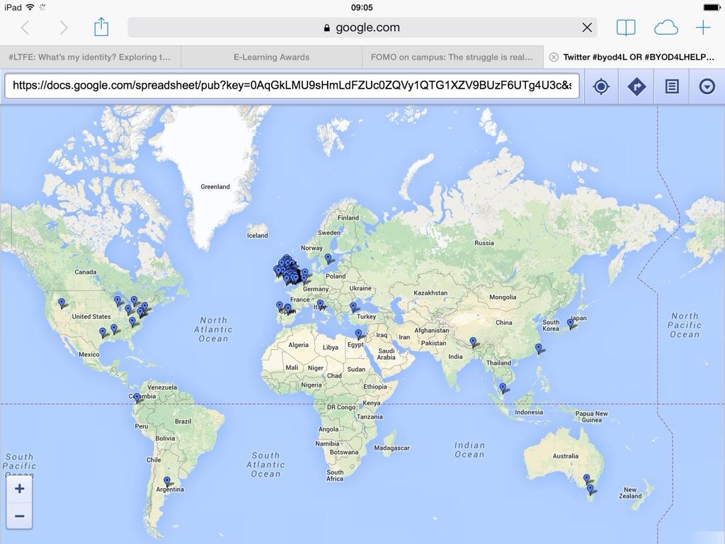Twitter Map