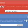Google search tips and tricks (infographic)