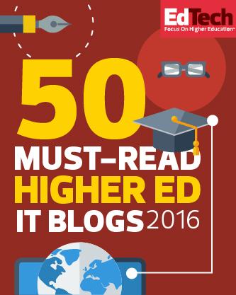 Must-read Higher Ed IT Blog 2016