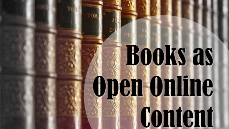 Books as Open Online Content (BOOC)
